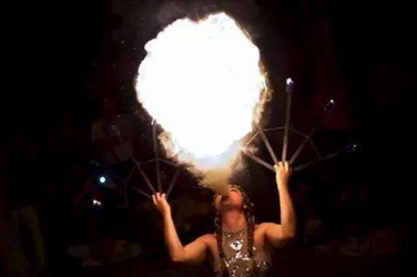 Karma Fire Show